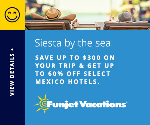Save up to $300 on your trip & get up to 60% off select Mexico hotels