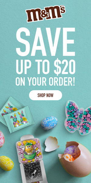 $10 off Orders of $60+ // $20 off Orders of $100+ Use Code JUST4YOU21! Valid 3/21 - 3/29!