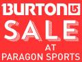 Burton Sale @ Paragon Sports!