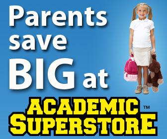 Parents Save Big at Academic Superstore