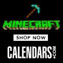 Shop Minecraft at Calendars.com Now!