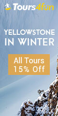 Winter in Yellowstone : All tours 15% Off