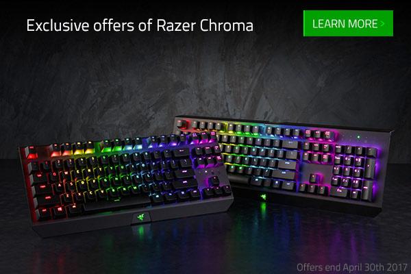 Exclusive Razer Chroma Offers