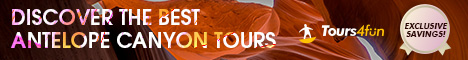 Discover the best Antelope Canyon Tours!