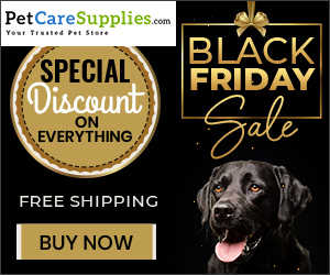 Black Friday Sale on pet supplies