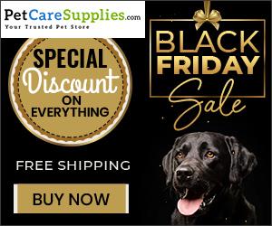 Black Friday Sale on pet supplies