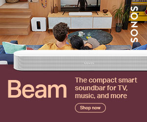 Image for Sonos New Beam Gen2 banner 300x250
