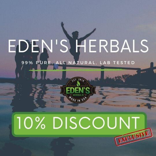 Eden's Herbals 10% exclusive discount