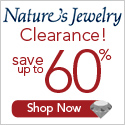 Clearance 60% OFF Nature's Jewelry