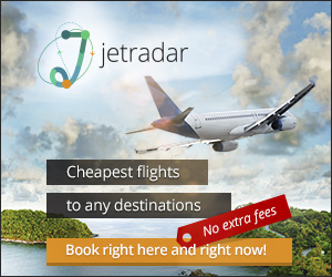Adulting includes traveling. Find cheapest flights at Jetradar.