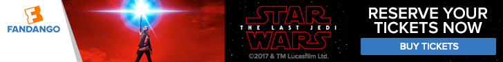 Star Wars: The Last Jedi Tickets