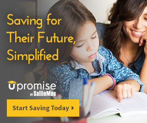 Saving for their future is simplified with Upromise.