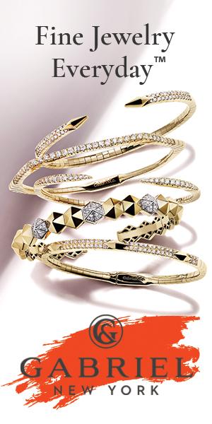 Website Banner: Fine Jewelry Banner, Demure, 300 x 600