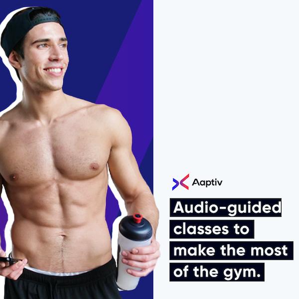 Fitness Training Apps - Aaptiv audio classes