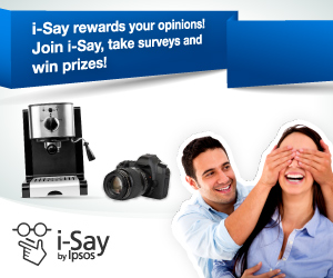 Ipsos, I-Say, Surveys