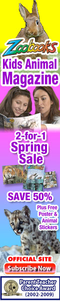 Save up to 67% on Zoobooks Magazine