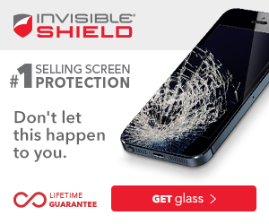 InvisibleShield Glass Screen Protector