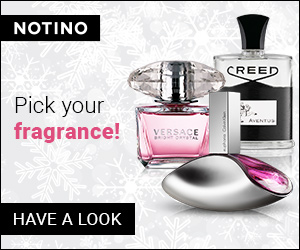Christmas: Pick your fragrance at Notino.com!