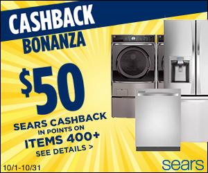 Sears Promo Code - CASHBACK BONANZA