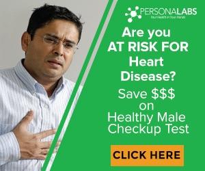 Healthy Male Checkup @ Personalabs.com
