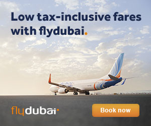 FlyDubai flights to India
