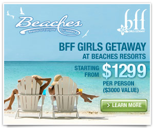 Beaches Friends Forever Getaway