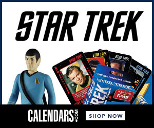 Shop Star Trek at Calendars.com Now!