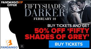 Fandango Fifty Shades Darker GWP