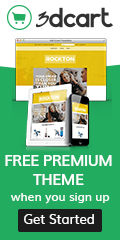 FREE Premium Theme When You Sign Up! Shop Now And Get Started! For A Limited Time Only At www.3dcart.com !