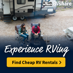 Experience RVing! Rent an RV