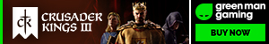 Buy Crusader Kings III for PC at Green Man Gaming