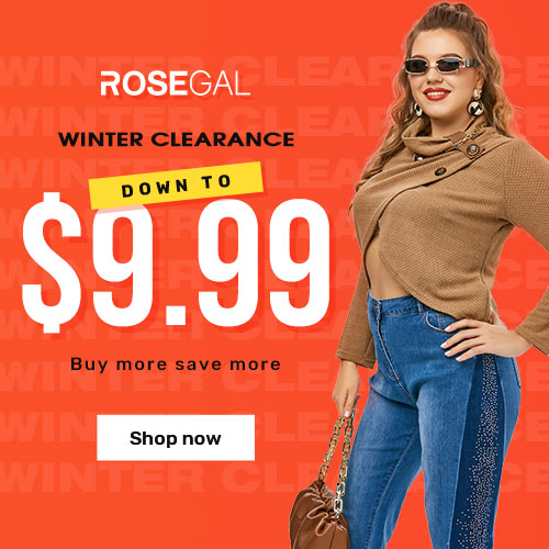 Down To $9.99 Winter Clearance