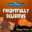Frightfully Delicious Halloween Treats from Ghirardelli Chocolate