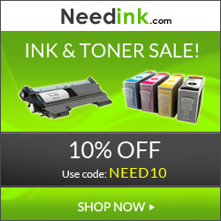 Use the code INK10 and get 10% Off sitewide at NEEDiNK.com