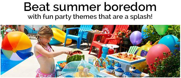 Summer party themes at Birthday Express