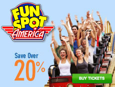 Fun Spot America - Save over 20%!