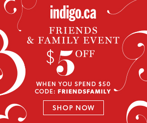 Friends & Family Event! $5 Off When You Spend $50 or More On Regular Priced Items.
