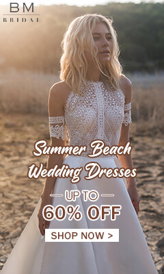 Summber Beach Wedding Dress