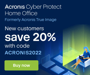 Image for EN Acronis Cyber Protect Home Office | 20% off
