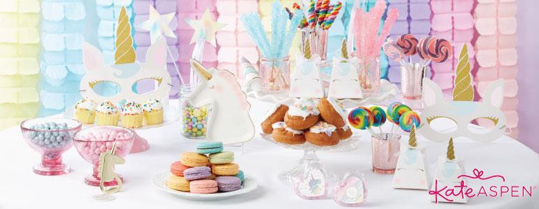 Kate Aspen Enchanted Party - Unicorn Party Decor & Favors