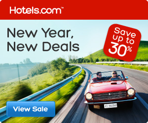 Hotels.com Canada: New Year, New Deals: Save up to 30%! Book by 1/28/13, Travel by 2/18/13
