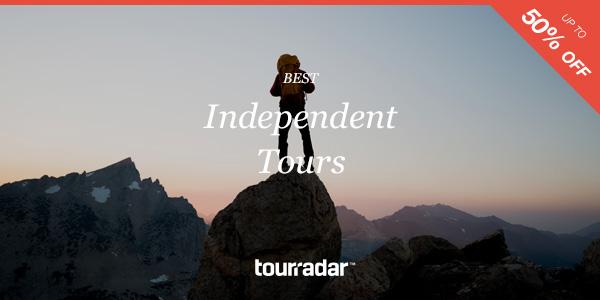 Tourradar Independent Online Travel Expo Deals