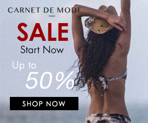 Carnet de Mode Summer Sale - Up to 50% Off. Shop Now!