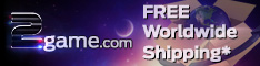Get FREE Worldwide shipping at 2game.com