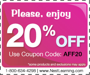 20% off at NestLearning.com