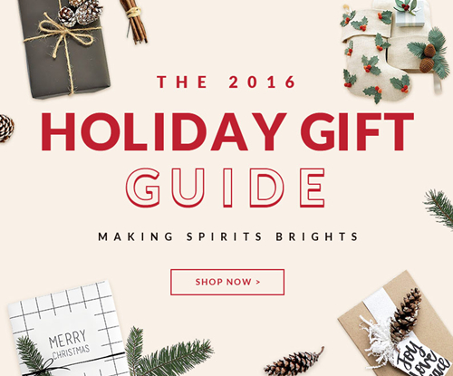 Are You Ready for Christmas? A gift guide is here