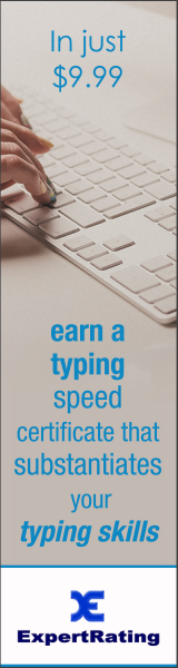 ExpertRating Typing Certification
