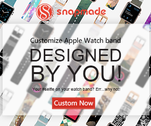 Snapmade 2015 - Custom Apple Watch Bands - 300*250