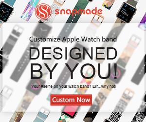 Snapmade 2015 - Custom Apple Watch Bands - 300*250