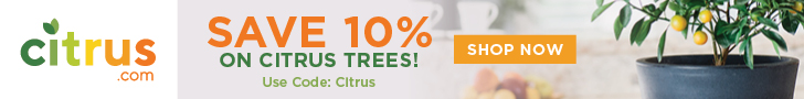 Cirtrus.com: Save 10% on Citrus trees with code CITRUS